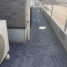 駐車場工事と雑草対策 NO.921の施工写真2