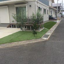 防草シートで雑草対策 NO.941の施工写真0