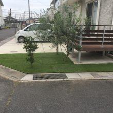 防草シートで雑草対策 NO.941の施工写真