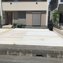 土間コンクリート駐車場 NO.929の施工写真0
