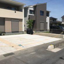 土間コンクリート駐車場 NO.929の施工写真