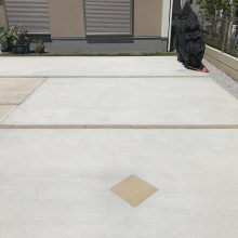 土間コンクリート駐車場 NO.930の施工写真1
