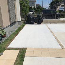 土間コンクリート駐車場 NO.929の施工写真2