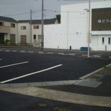 駐車場をアスファルトで NO.925の施工写真