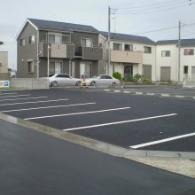 駐車場をアスファルトで NO.924の施工写真2