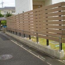 フェンスで目隠し NO.926の施工写真1