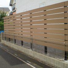 フェンスで目隠し NO.926の施工写真
