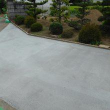 イナバのガレージ NO.944の施工写真2