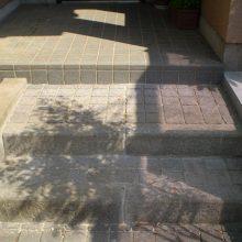 目隠しフェンスと復旧工事 NO.949の施工写真2