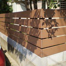 目隠しフェンスと復旧工事 NO.949の施工写真1