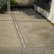 門柱を奥に移設 NO.950の施工写真1