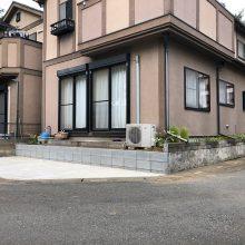 庭を駐車場にリフォーム NO.972の施工写真0