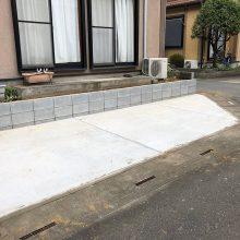 庭を駐車場にリフォーム NO.972の施工写真