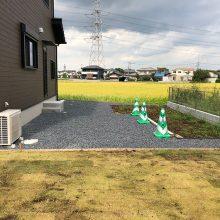 4台分の土間コンクリート NO.980の施工写真1