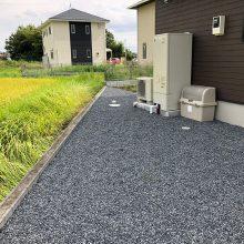 4台分の土間コンクリート NO.980の施工写真2