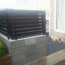 ブロック・目隠しフェンス工事 NO.983の施工写真2