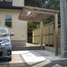 機能門柱はスリムモダン NO.969の施工写真3