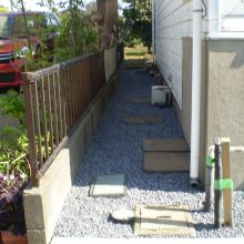 雑草対策 NO.981の施工写真3
