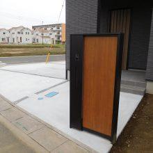 機能門柱、駐車場工事 NO.994の施工写真