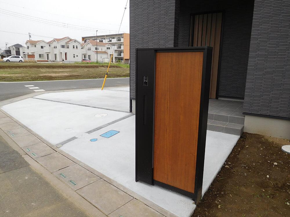 機能門柱、駐車場工事 NO.994