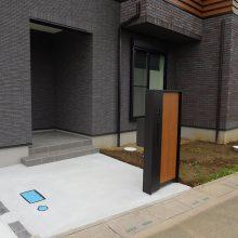 機能門柱、駐車場工事 NO.994の施工写真0