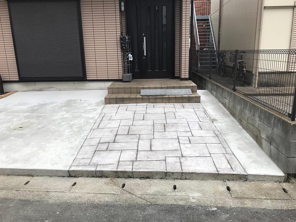 スタンプコンクリート NO.993
