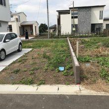 雑草対策に6号砕石 NO.986の施工写真3