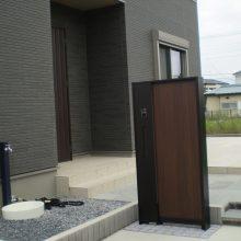 門柱の取替え工事 NO.987の施工写真0