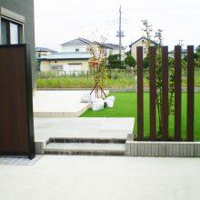 門柱の取替え工事 NO.987の施工写真