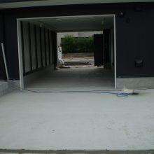 ガレージハウス外構工事 NO.1008の施工写真1