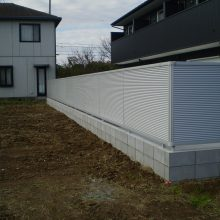 ガレージハウス外構工事 NO.1008の施工写真2