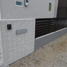 目隠しフェンスにシャトレナ NO.1022の施工写真メイン