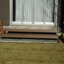 木目調の門扉とフェンス NO.1030の施工写真3