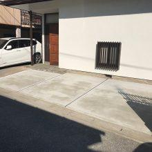 駐車場リフォーム工事 NO.1012の施工写真