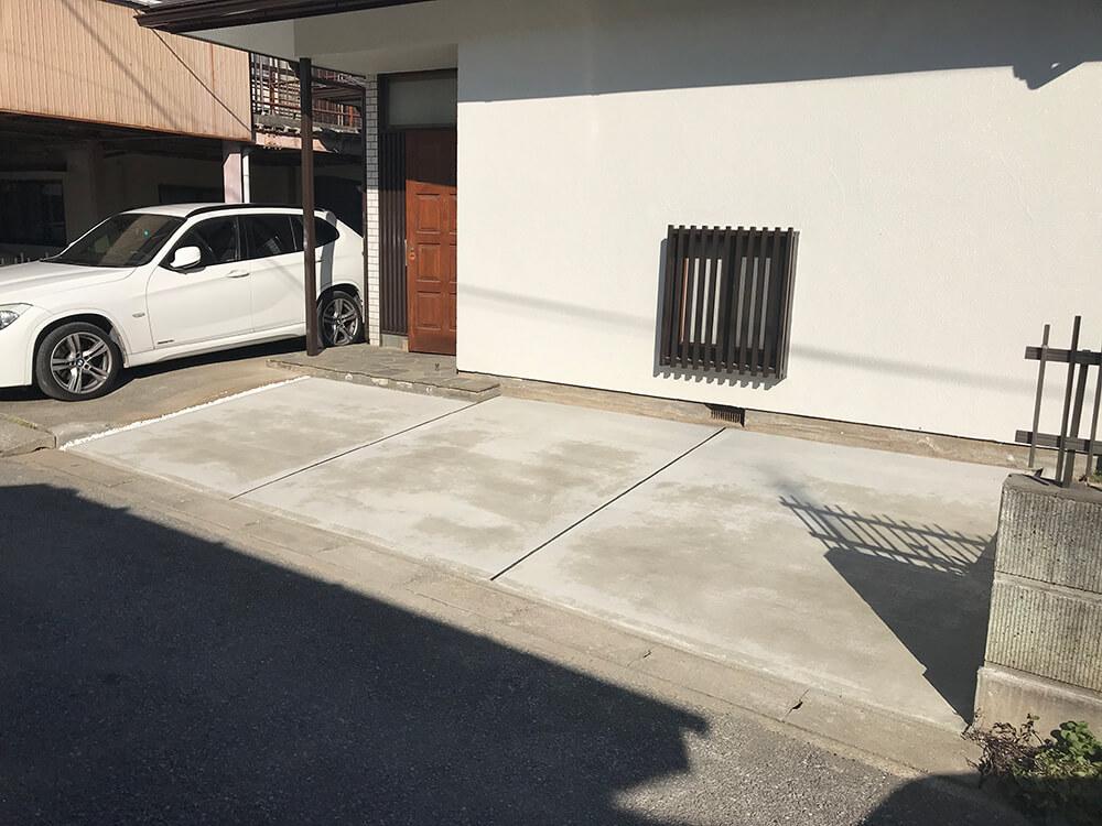 駐車場リフォーム工事 NO.1012