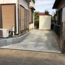 お庭を駐車場に変更 NO.1016の施工写真1