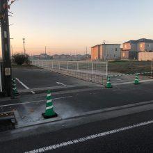 境界工事 NO.1028の施工写真1