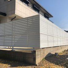 目隠しフェンスをリニューアル NO.1018の施工写真1