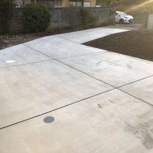 駐車場・犬走り工事 NO.1020の施工写真