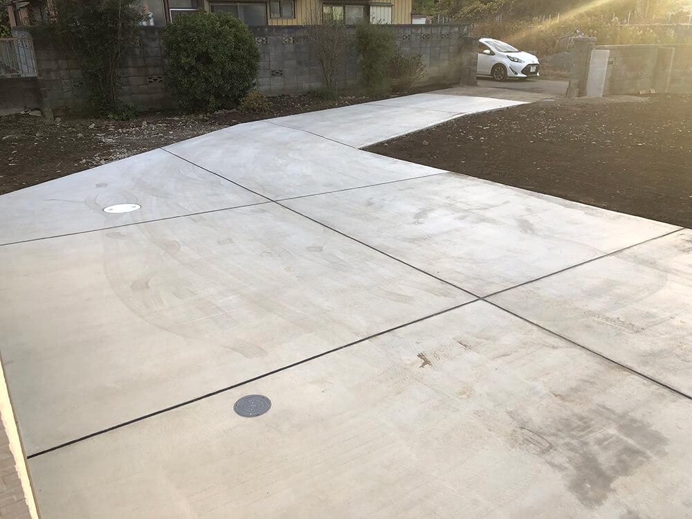 駐車場・犬走り工事 NO.1020