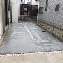 お庭を駐車場に NO.1023の施工写真2