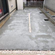 お庭を駐車場に NO.1023の施工写真1