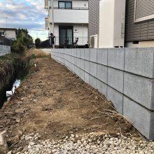 ブロック積み工事 NO.1026の施工写真0