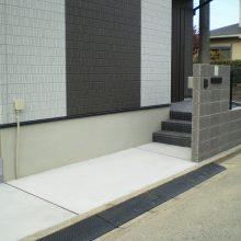 ベーシックなオープン外構 NO.1014の施工写真1