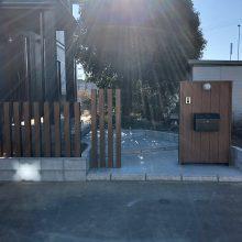 門まわりを木目に NO.1041の施工写真1