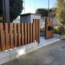 門まわりを木目に NO.1041の施工写真2