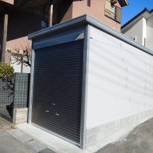 ガレージと駐車場工事  NO.1043の施工写真1