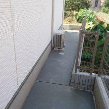 サイクルポートをちょっとしたスペースに NO.1036の施工写真2