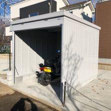 車庫には大切なバイクを NO.1031の施工写真0