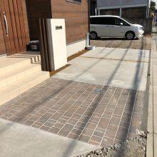 自転車置き場にオイトック NO.1057の施工写真3